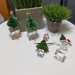 Other - Ice Cube Ornaments: Trees